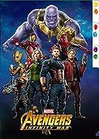 Marvel(マーベル) Avengers: Infinity War(アベンジャーズ/インフィニティ・ウォー) 3ポケットクリアファイル A [インロック]