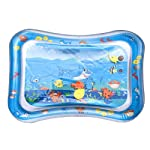Tummy Time Mat, MOGOI Baby Inflatable Water Play Mat Indoor & Outdoor Pad for Babies & Infants Inflatable Tummy Time...