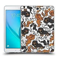 Head Case Designs イングリッシュトイスパニエル ドッグブリード・パターン 14 Samsung Galaxy Tab A 9.7 専用ソフトジェルケース