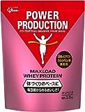 グリコ パワープロダクション マックスロード ホエイ プロテイン ストロベリー味 3.5kg [使用目安 約175食分…