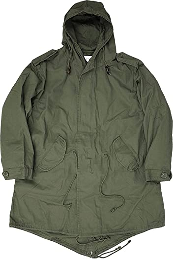 Houston M-51 Parka 5409: OD Green