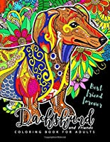 Dachshund Coloring Book for Adults and Friend