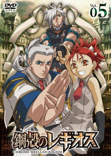 鋼殻のレギオス第5巻 (通常版) [DVD]