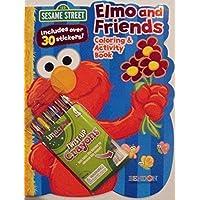 Sesame Street bundle-c-64 Page Shapedカラーリングandアクティビティブックwithステッカー。Plus One Sixパックtwist-upクレヨン。