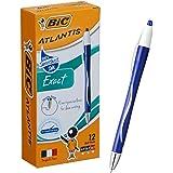 ビック 油性ボールペン アトランティス EX 0.7 青 12本 ATX07BLUBX12