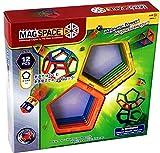 「日本版正規品」MAGSPACE・マグスペース 12 高級「五角形セット」 想像力を育てる知育玩具