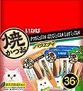 いなば 焼かつお 成猫用 バラエティパック 36本