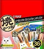 いなばペットフード 焼かつお 成猫用 バラエティパック 36本