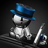 車載ホルダー Aokway ダッシュボード携帯ホルダー可愛360度回転|創意 クリスマス プレゼント (ブルー)