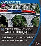 KATO Nゲージ アルプスの青いレストランカーWR3811 GOURMINO 5280 鉄道模型 客車