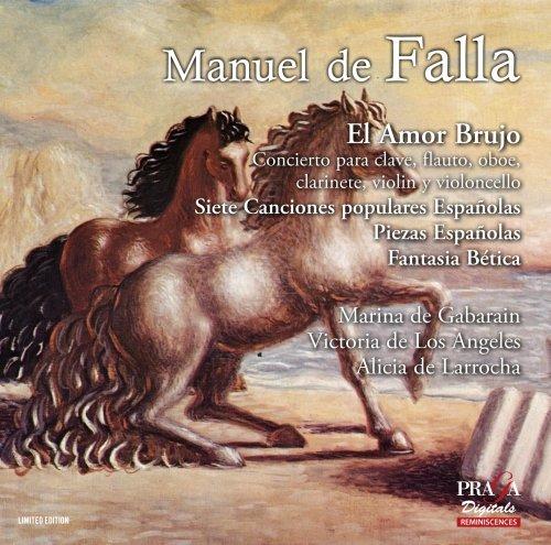 ファリャ : バレエ音楽 「恋は魔術師」 (1925年版) 他 (Manuel de Falla : Masterworks ~ El Amor Brujo , etc. / Marina de Gabarain , Victoria de Los Angels , Alicia de Larrocha) [SACD Hybrid] [輸入盤]