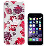 TeamS(チームエス) adidas アディダス iPhone7 ケース ブランド ハード スマホケース アイホン7 ケース bohemian ボヘミアンレッド 「当店オリジナルフィルム付き」 [並行輸入品]
