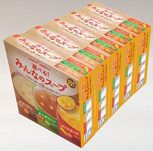 『ポッカサッポロ 選べる! みんなのスープ 8袋入×5個』の3枚目の画像
