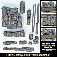 イギリスLRDGコマンドカーCargoセット3タミヤキット対応[ lrdg3 ] LRDG Truck Load & Bits Set 3 for Tamiya