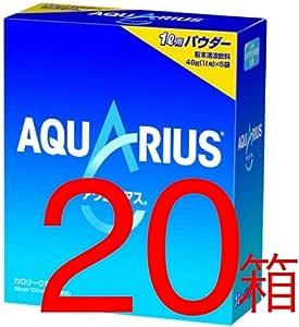 【5袋×20箱】 アクエリアス パウダー 1L用48g×5袋×20箱(4902102102681)