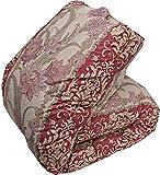 羽毛布団 マザーグース グース ダブル 国産 レッド 6つ星 プレミアムゴールドラベル認定 ポーランド産 ダウン93% 日本製 羽毛掛け布団 布団 ふとん