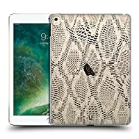 Head Case Designs ブラック&ホワイト パイソン サーペント・スキン ハードバックケース iPad Pro 12.9 (2017)