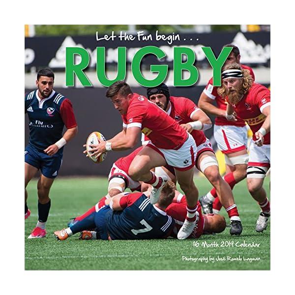 Rugby 2019 Calendarの商品画像