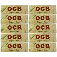 ocb オーシービー オーガニックヘンプ 手巻き用シングルペーパー 5.10,20個セット (10個セット)