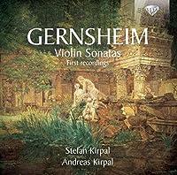 ゲルンスハイム:ヴァイオリンソナタ集