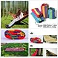 Gaorui Double/single Hammock Cotton Rope Outdoor Swing Camping Hanging Canvas Bed Size