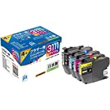【Amazon.co.jp 限定】ブラザー(Brother) LC3111-4PK 4色セット対応 ジットリサイクル インク JIT-NB31114P 日本製