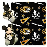 Northwest nor-1cob038001009ret Missouri Tigers NCAA Mickey Mouse with Throw Combo by Caseys