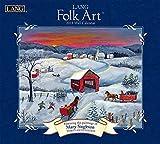 Lang Folk Art 2018 Calendar (Deluxe Wall)