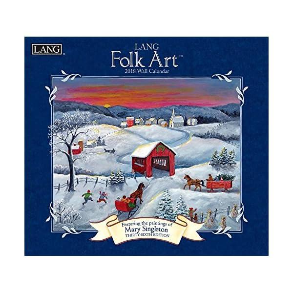 Lang Folk Art 2018 Calen...の商品画像