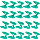Hosfairy 20Pcs Sunshade Net Clip Greenhouse Film Clip Shade Cloth Clips Fixer Hang Clip Tools for Greenhouse Outdoor Garden A