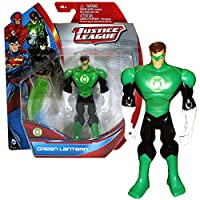 Mattel Year 2013 DC Justice League Series Exclusive 5 Inch Tall Action Figure - GREEN LANTERN (Hal Jordan) with Hard