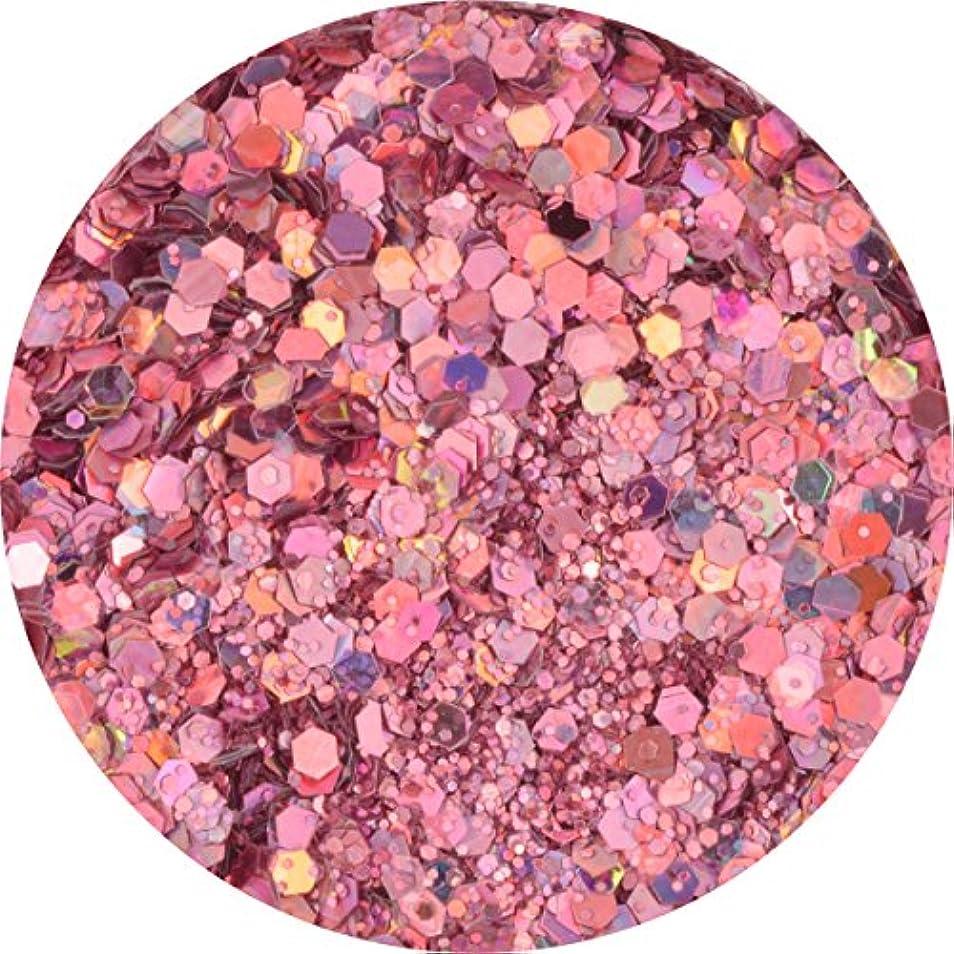 経度用量集まるラメホロ ミックス [ラメ&ホログラム1mm]mix 選べる12色 (02.ライラックピンク)