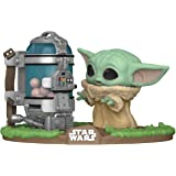 FUNKO POP! Deluxe: The Mandalorian- Mandalorian Child with Canister