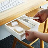 Under Desk Drawer, Ochine Under Desk Storage, Under Desk Pencil Drawer Organizer, Under Table Storage, Adhesive Desk Drawer,