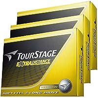 【3ダースセット】EXTRA DISTANCE ツアーステージ エクストラ ディスタンス ゴルフボール(36P)イエロー