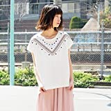 179/WG(179 WG) デコルテ刺繍Tシャツ【28オフ/99(FREE)】