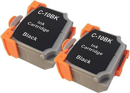 3年保証 キャノン (CANON)用 BCI-10BLACK 対応 互換インクカートリッジ ブラック 2個パック 0905A001 ベルカラー製