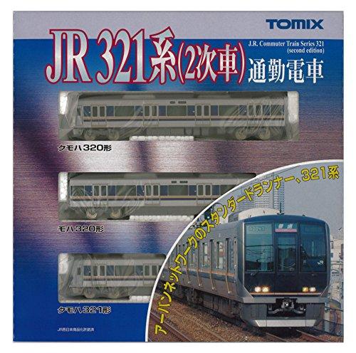 TOMIX Nゲージ 92358 321系通勤電車 (2次車) 基本セット3両