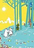 108ピース ジグソーパズル プリズムアート ムーミンバレー メッツァ(森)(18.2x25.7cm)