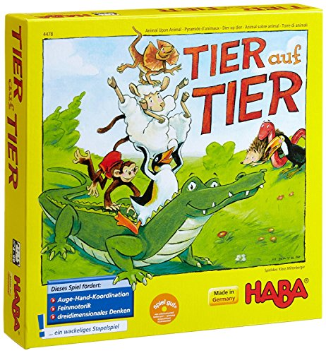 ワニに乗る? (Tier auf Tier) German Version of Animal Upon Animal [並行輸入品] ボードゲーム