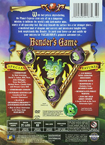 Futurama: Bender's Game [DVD] [Import]