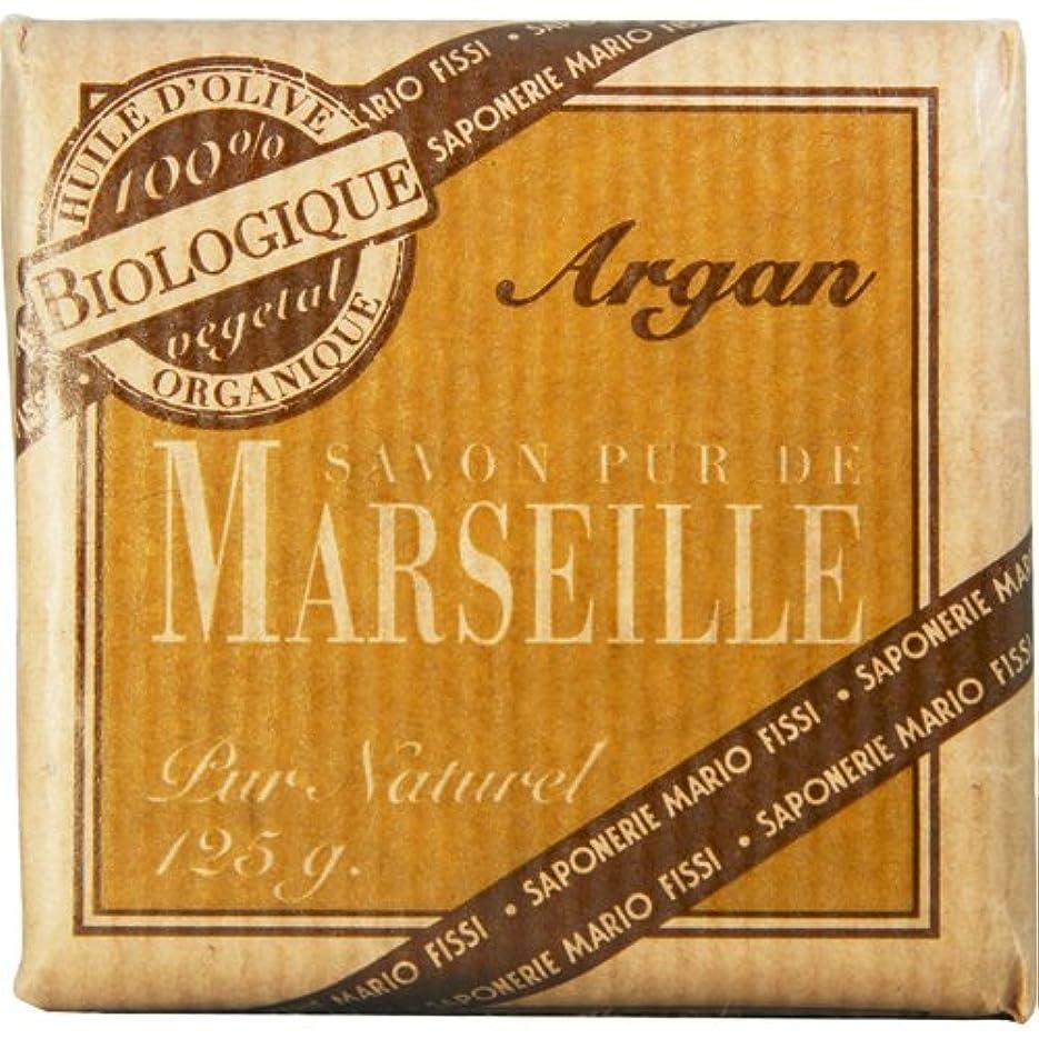 太い腹部時間厳守Saponerire Fissi マルセイユシリーズ マルセイユソープ 125g Argan アルガン