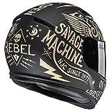 HJC(エイチジェイシー)バイクヘルメット フルフェイス ゴールド(MC10F) (サイズ:M) CS-15レブル HJH117