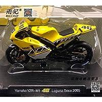 LEO 1/18 スケール MOTOGP バイクモデルトイバレンティーノ?ロッシ VR46 ヤマハ 2005-m1 ラグナ?ダイキャストメタルバイクモデルトイコレクション