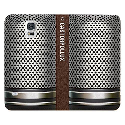 Galaxy S4 / ギャラクシー S4 (SC-04E) 対応 ケース Parody Book Flip Wallet パロディー ブック フリップ ウォーレット ケース スマホ カバー Mic / マイク
