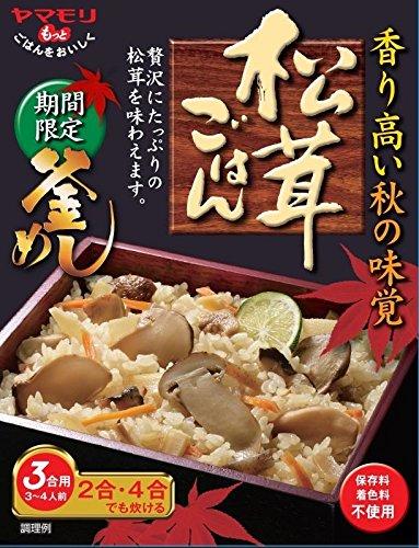ヤマモリ 期間限定釜めしの素 松茸ごはん 210g