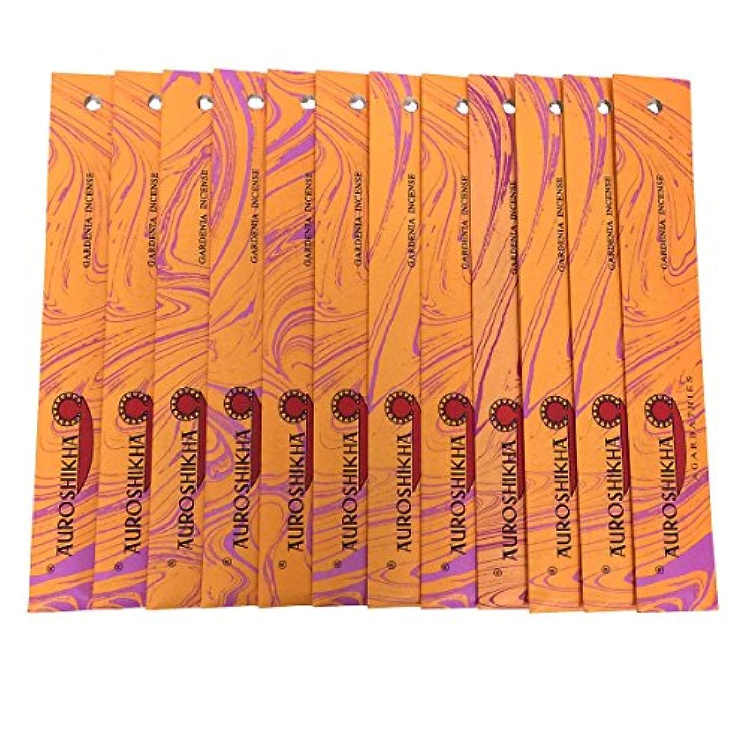 解決抗生物質磨かれたAUROSHIKHA オウロシカ(GARDENIAガーデニア12個セット) マーブルパッケージスティック 送料無料