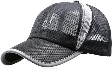 [B-WINDY] メッシュ キャップ UVカット ランニング 帽子 メンズ