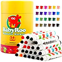 (24 Colors) - Joan Miro Kids Watercolour Markers Washable Non-toxic Set (24 Colours)