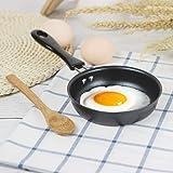 Valuu Nonstick Frying Pan Small Egg Pancake Round Mini Non Stick Fry Pan 12cm